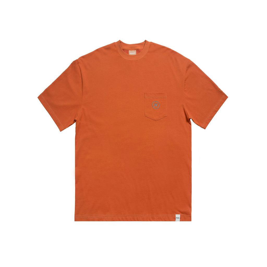 The Throne T-Shirt Numb Burnt Orange Front View