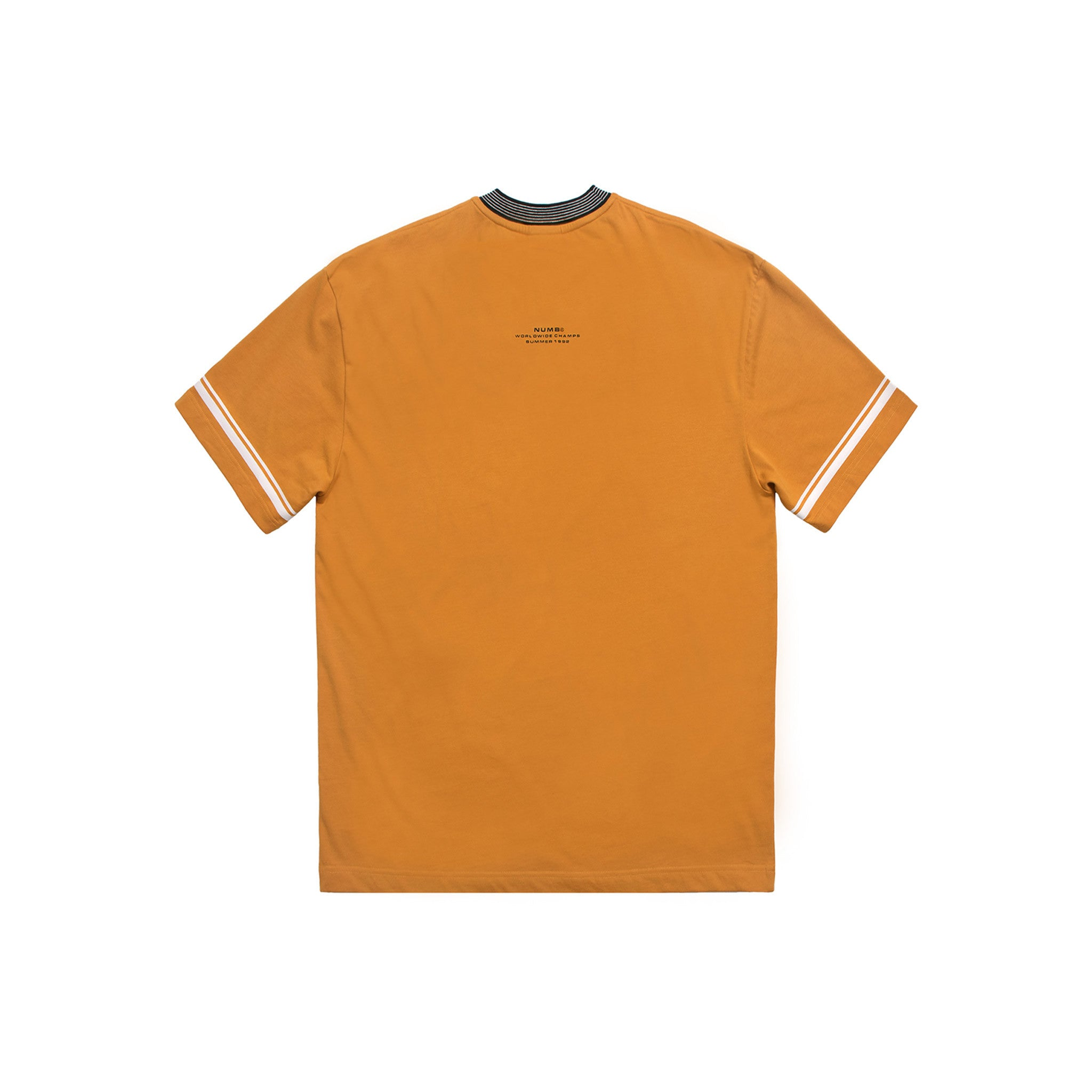 Worldwide Champs Jersey Numb T-Shirt Mustard Back View