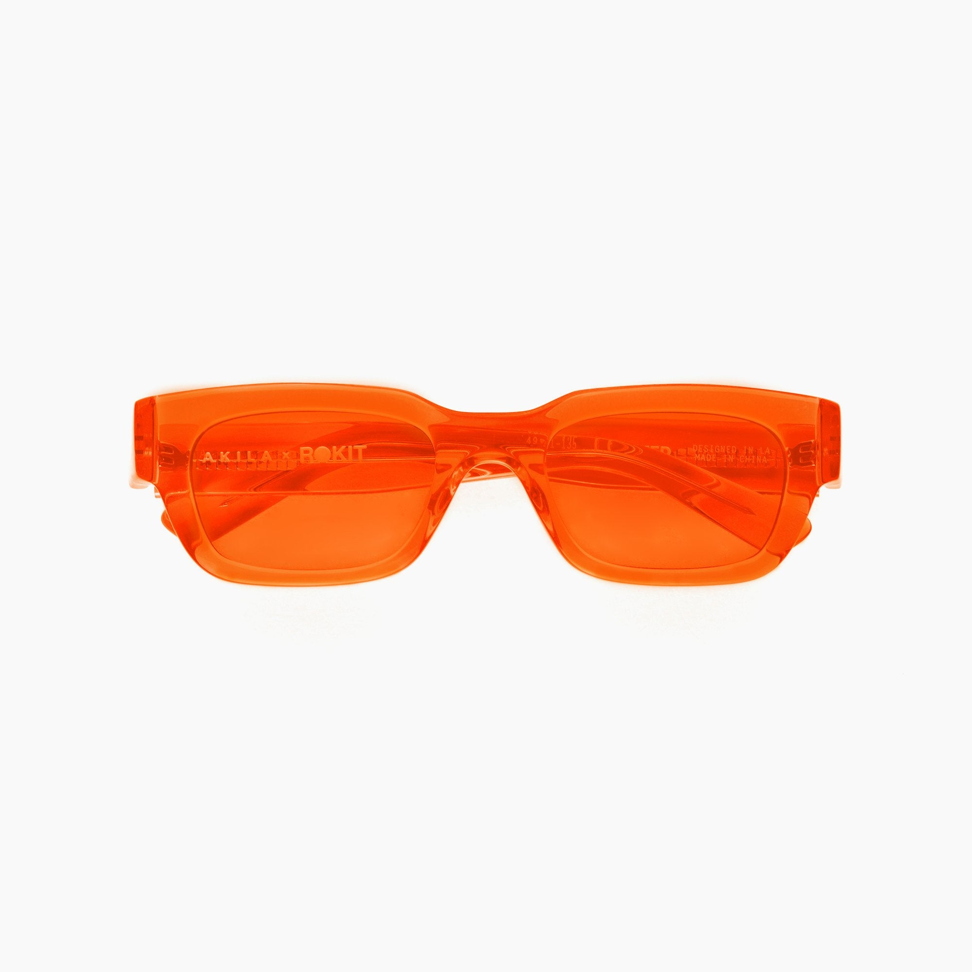 AKILA X ROKIT ZED SUNGLASSES ORANGE