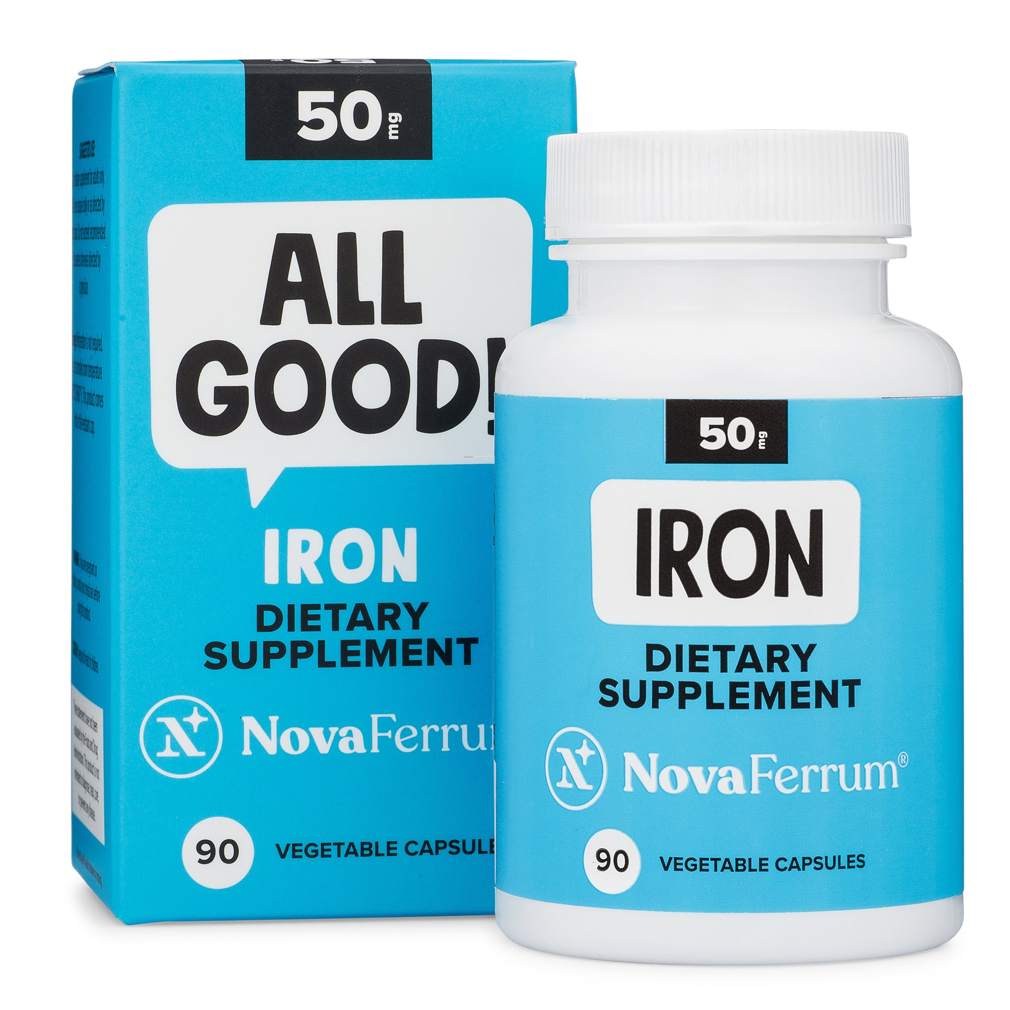 NovaFerrum 50 MG Iron Capsules (90 count)