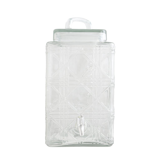 Gibson Home Jewelite 2.5 Gallon Drink Dispenser, Clear Glass