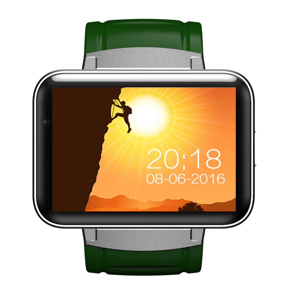 M98 2.2 Inch Large Touch Screen Sport Smart Bracelet Fitness Tracker Smart Band (green)