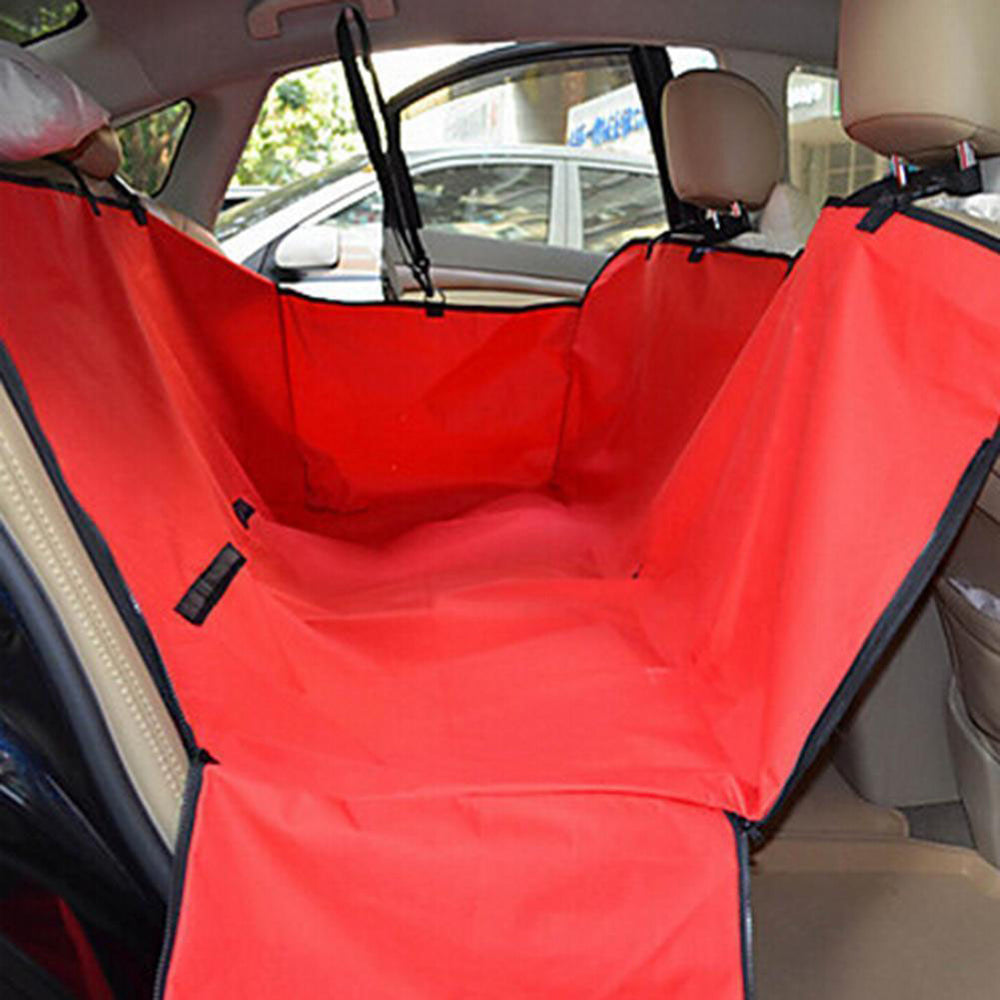 Waterproof Vehicle-Mounted Pet Car Back Seat Mat Soiling Resistant Cushion Seat Cover
