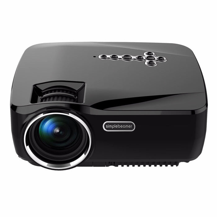 1200 Lumen Android Projector - 1080P Support, 25 to 100 Inch Display, Android 4.4, Kodi, Dual Band Wi-Fi