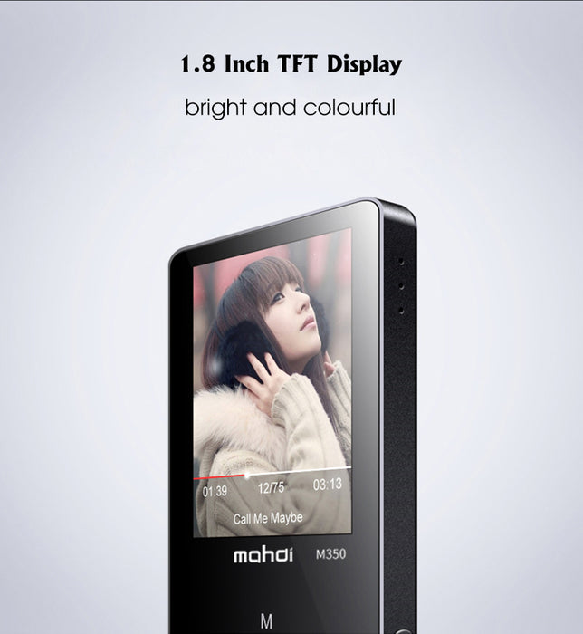 Touch Screen HIFI MP3 Player-Black