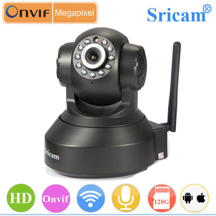 U.S Plug Sricam SP005 IP Camera 720P HD Wifi Infrared Night Vision Smart Monitor Security CCTV Camera