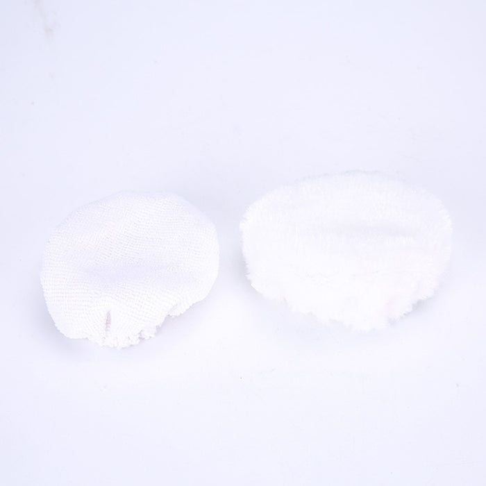 5 inch Car Care Tools, 2pcs Wax-polishing Machine Cover Pads Microfiber Bonnets for Waxer Polisher