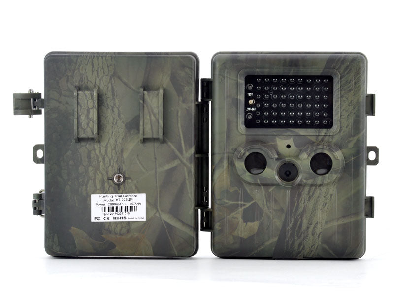 "Game Camera ""Trailview"" - 1080p HD, PIR Motion Detection, Powerful Night Vision, MMS View, 2.5 Inch Screen, Rechargable Battery"