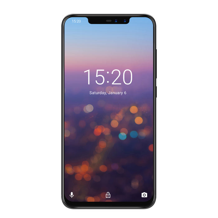 "UMIDIGI Z2 Special Edition Global Bands Mobile Phone 6.2"" FHD Full-Screen Android 8.1 4G Smartphone (Black)"