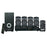 Supersonic 5.1 Channel DVD Home Theater System with USB Input and Karaoke Function