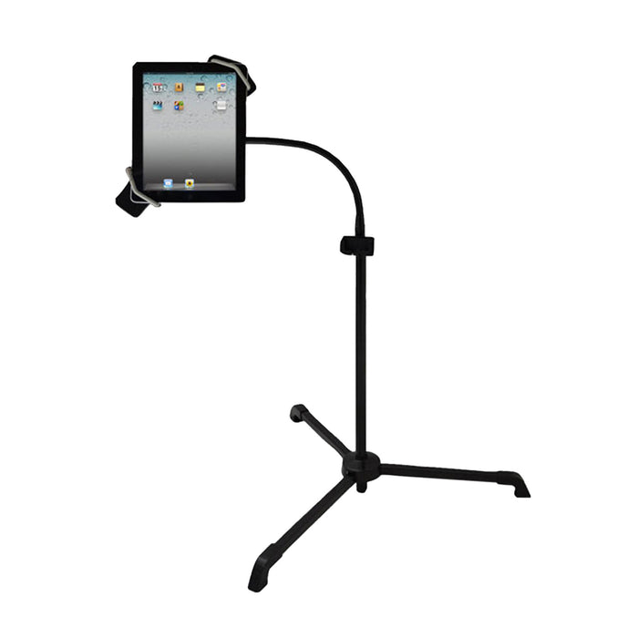 Pyle Universal Tablet PC/Android/Kindle/iPad Floor Stand For Music, Reading, Bedside Use,Fitness Use