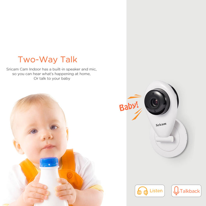 Sricam SP009 Wireless Wifi IP Camera HD 720P P2P CCTV Baby Monitor VCR (Australian regulations)