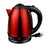 Brentwood 1.5 L Stainless Steel Electric Cordless Tea Kettle1000W (Red)