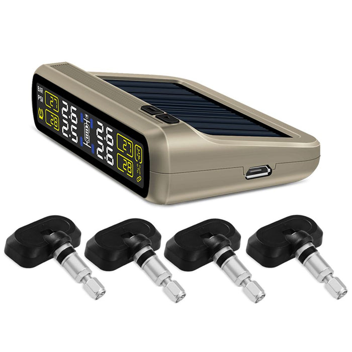 T881 TPMS Sensor Tire Pressure Monitoring System Universal Wireless Real-time Displays 4 Tire Pressure TPMS (Built-in)