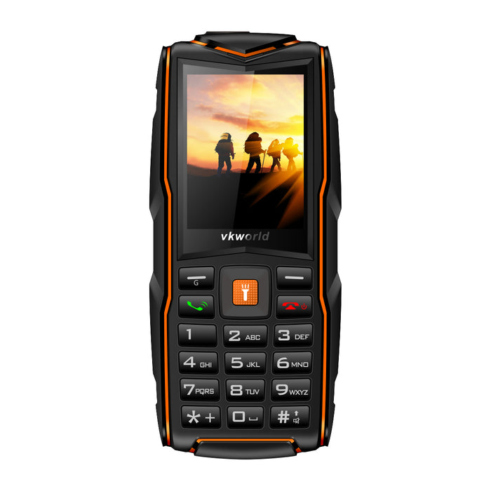 vkworld V3 Multifunction Shockproof Dust-Proof Mobile Phone with FM Radio Flashlight