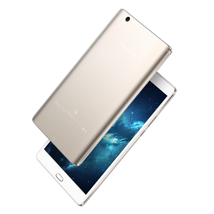 Teclast T8 Tablet PC - Android 7.0, Hexa Core CPU, 4GB RAM, 8.4-Inch Screen, Fingerprint Scanner, 5400mAh Battery, 13 MP Camera