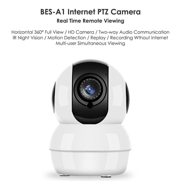 UK Wireless HD Mini 1080P Security Camera Network CCTV Night Vision WiFi Webcam