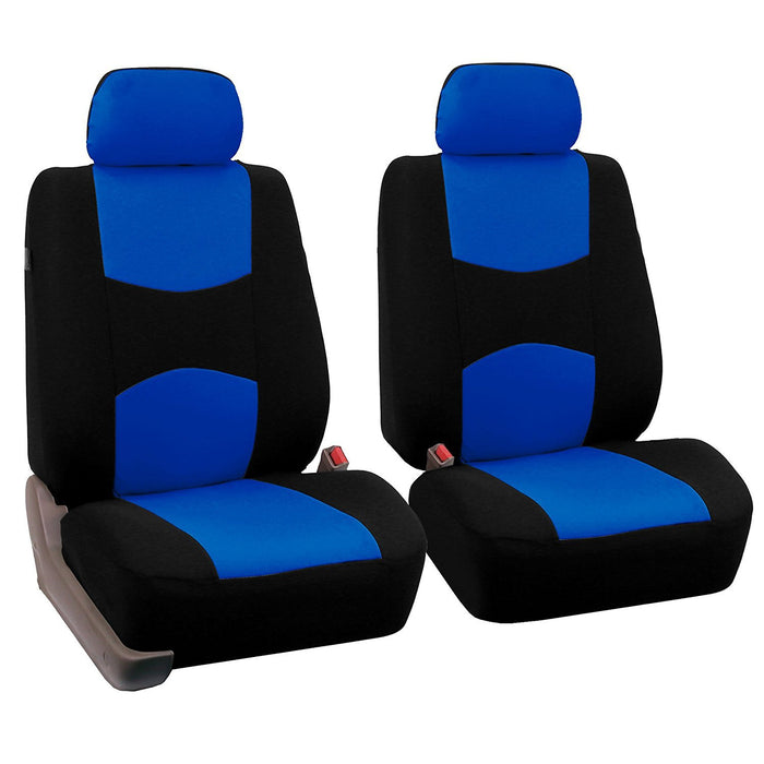 4pcs/set Universal Car Front Seat Cushion Cover + Head Cushion Cover Breathable Cloth Seat Cover Pad Set