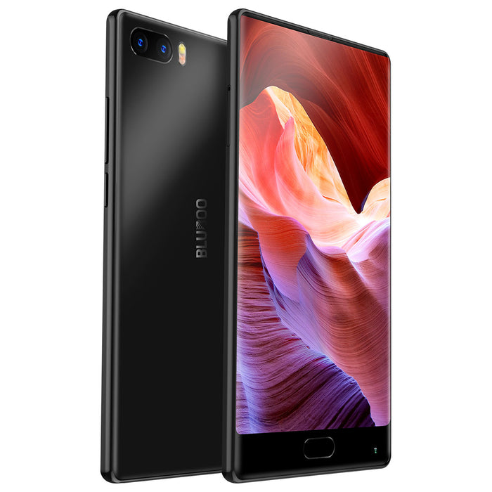 Bluboo S1 5.5'' FHD Smartphone MTK6757 Octa Core Full Display 4GB RAM 64GB ROM Android 7.0 Dual Rear Camera 4G Mobile Phone