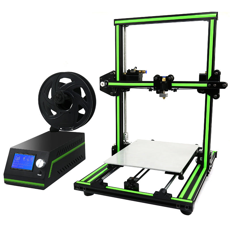Anet E10 3D Printer - Large Building Volume, High-Precision Printing, DIY Design, Wide Filament Range, SD Card Printing