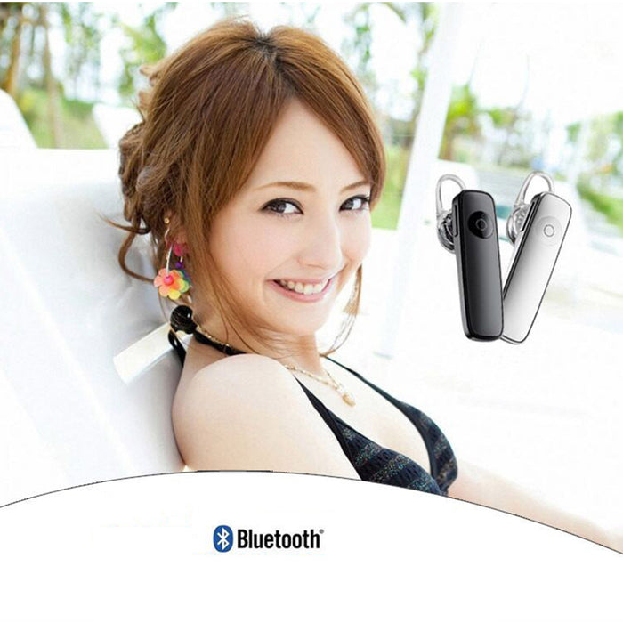 Stereo Mini Bluetooth Headset Single Earphone Wireless Headphone with Microphone Handsfree
