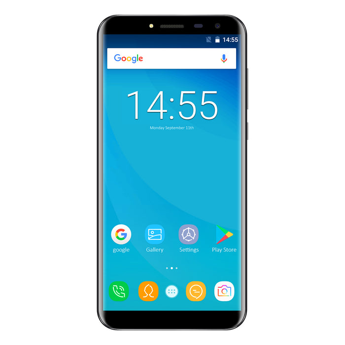 OUKITEL C8 5.5 Inch MT6580A Android 7.0 3G Smart Phone (Black)