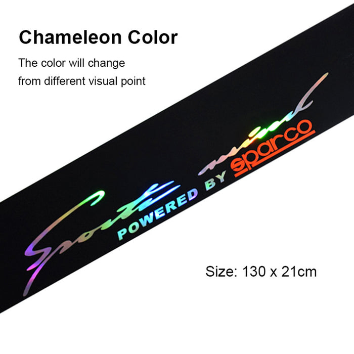 Colorful Reflective Decoration Decals Car Stickers Styling Front Windshield Decal Sticker