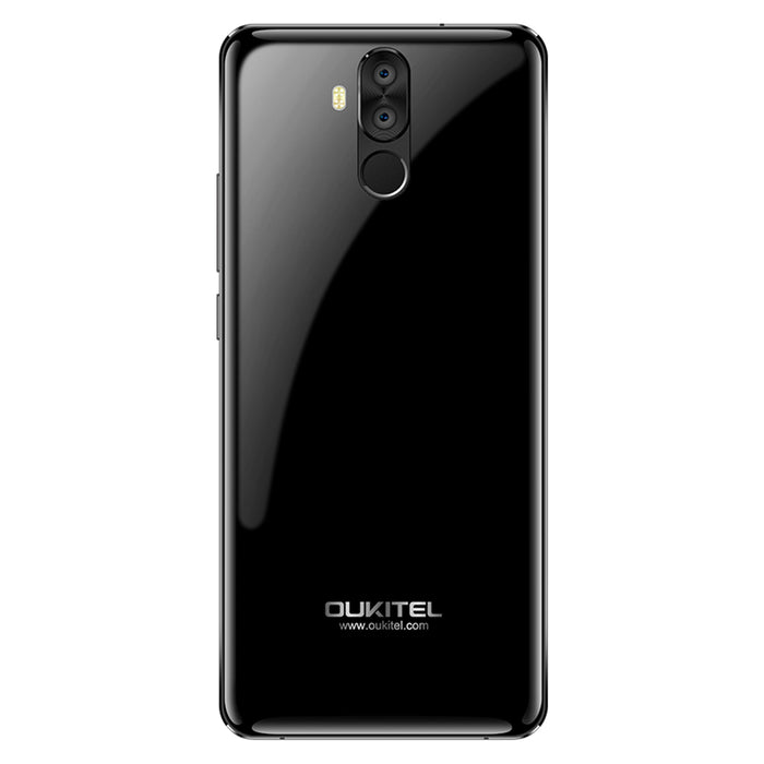 KOUKITEL 6.0 Inch 18:9 MT6763 Android 7.1 6 + 64GB Black Smart Phone
