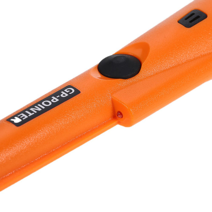 GP-Pointer Metal Detector - 360-Degree Detection Area, IP66 Waterproof, Audio And Vibrating Alarm, LED Light, Light Weight