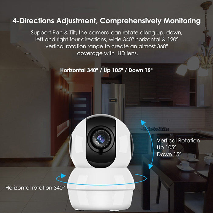 US Wireless HD Mini 1080P Security Camera Network CCTV Night Vision WiFi Webcam