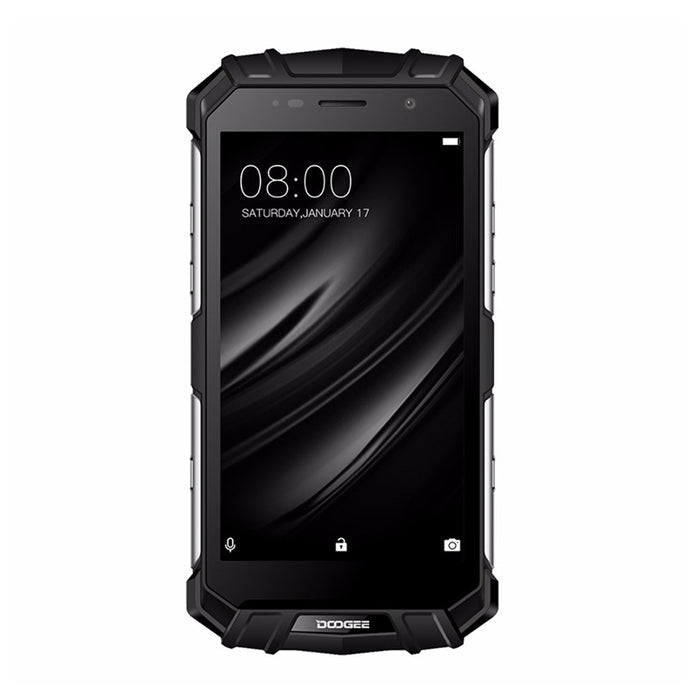 Rugged Smartphone Doogee S60 Android Phone - Octa-Core, Android 7.0, 6GB RAM, QI Wireless Charging, 1080p, 21MP Cam (Silver)