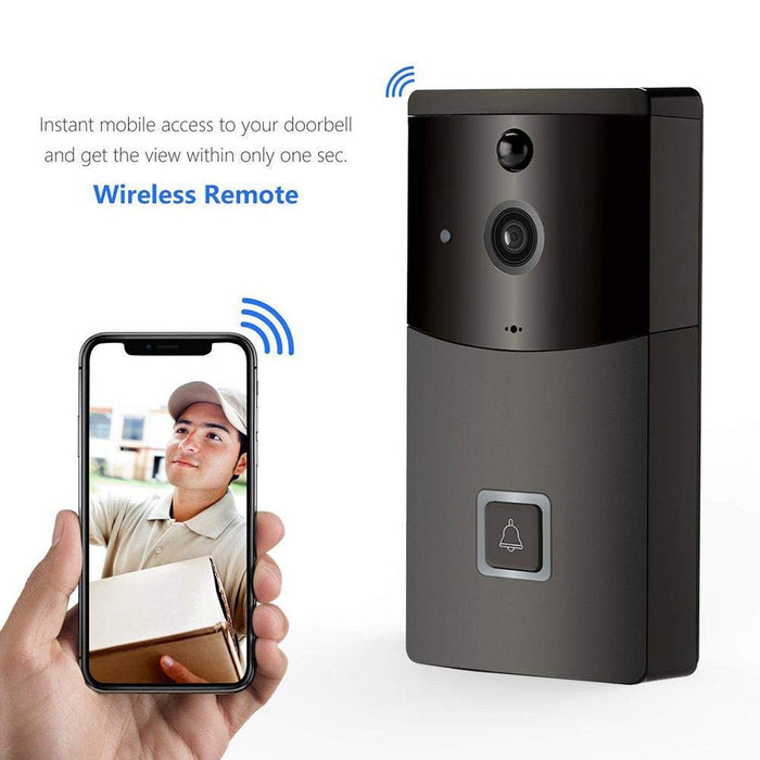 WiFi Smart Video Doorbell Mobile Phone APP Remote Viewing Video Intercom