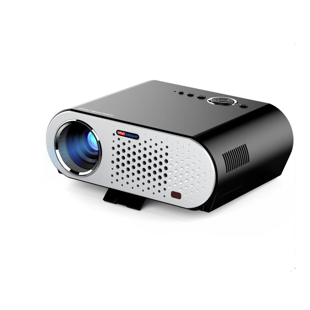 AU Plug Portable Video Projector Wireless Projector Multimedia HD1080P Cinema Theater Projector with HDMI/VGA/AV/USB/RJ45-LAN