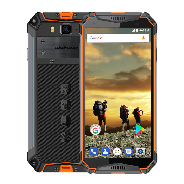 Ulefone Armor 3 5.7 inch Android 8.1 Smartphone-Orange
