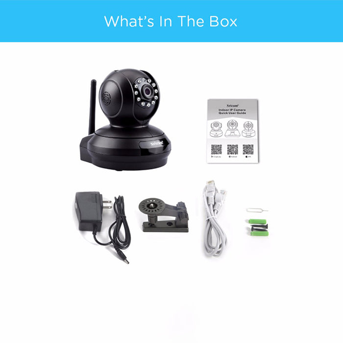 US Plug Sricam SP019 HD 1080P IP Camera Wifi Wireless Baby Monitor Night Vision Home IP Security Cam