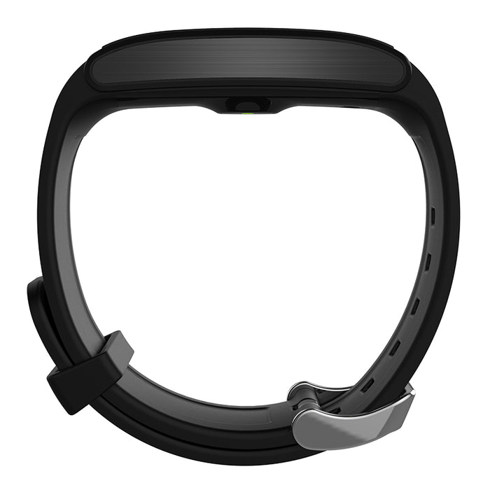 Ordro S12 Fitness Bracelet - Pedometer, Heart rate, Sleep Monitor, Call Reminder, Anti-Lost (Black)