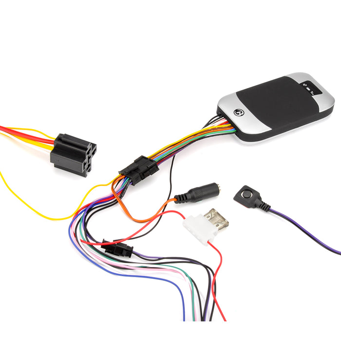 GPS Tracker with Remote Control - Support Quad-Band SIM, SMS Alerts, Real Time Tracking, Geo Fencing