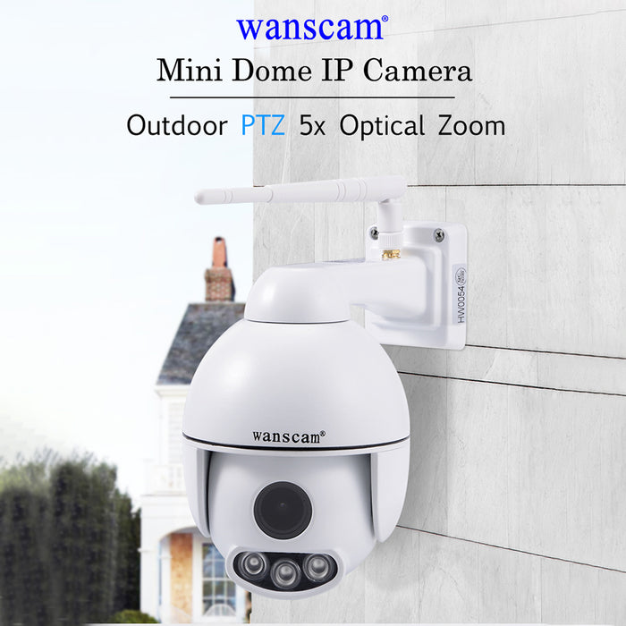 WANSCAM HW0054 Outdoor WiFi HD IP Camera IR Night Vision 1080P 2MP Two-Way Audio Camera (Australian regulations)