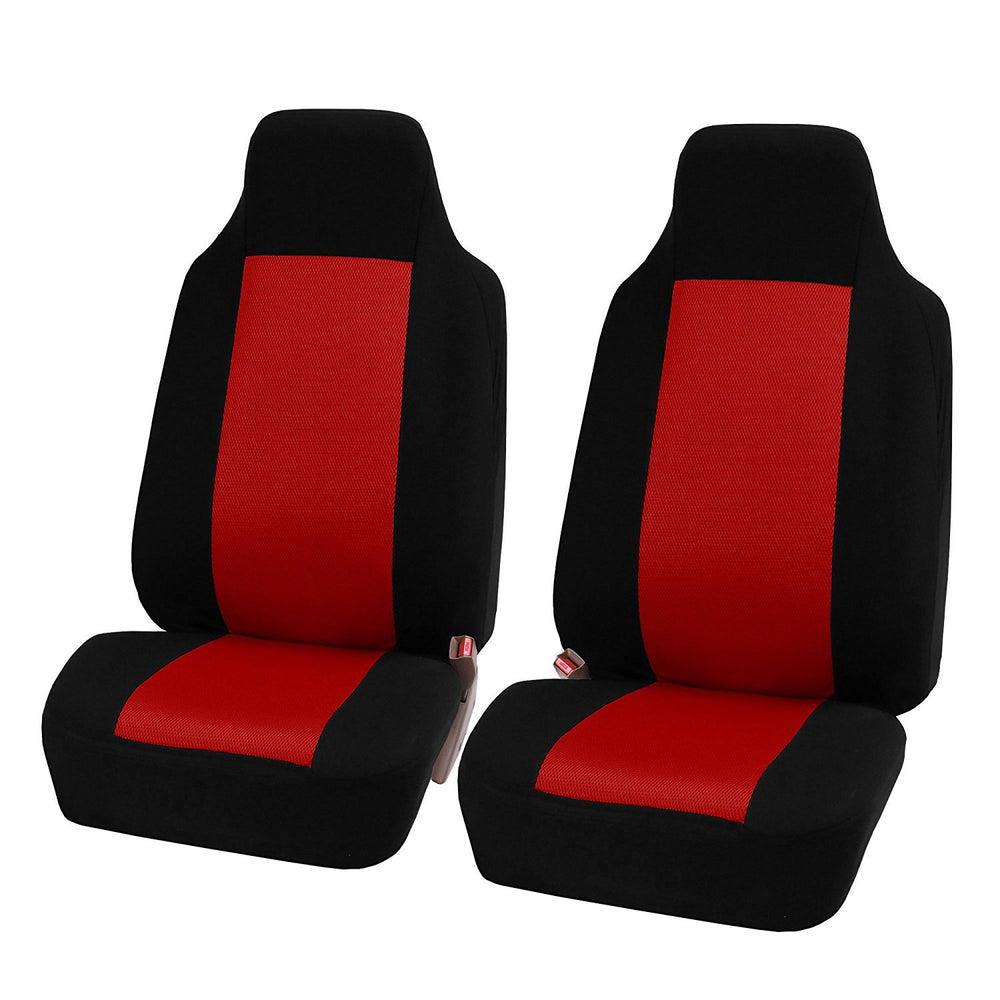 2pcs/set Universal Car Front Seat Cushion-Red