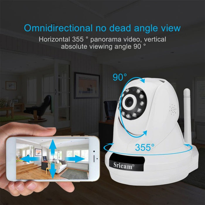 U.S Plug Sricam SP018 2.0MP Home Security IP Camera Wireless Smart WiFi Camera Baby Monitor Night Vision CCTV Camera