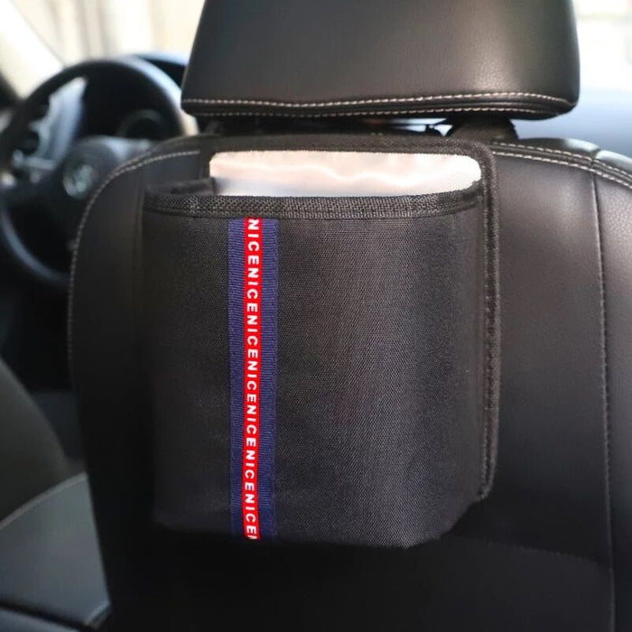 Letters pattem Storage Pouch Seat Back Pocket