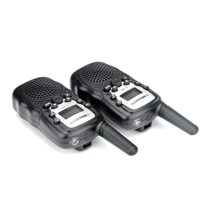 Walkie Talkie - 5 To 8KM Range, 22 USA Channels, 8 Europe Channels, Flash Light, Battery Indicator, Keypad Lock