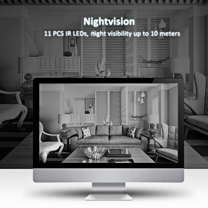 UK Plug Sricam SP019 HD 1080P IP Camera Wifi Wireless Baby Monitor Night Vision Home IP Security Cam