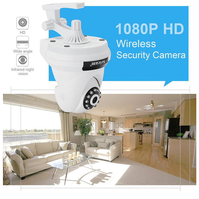 UK Plug Sricam SP018 2.0MP Home Security IP Camera Wireless Smart WiFi Camera Baby Monitor Night Vision CCTV Camera