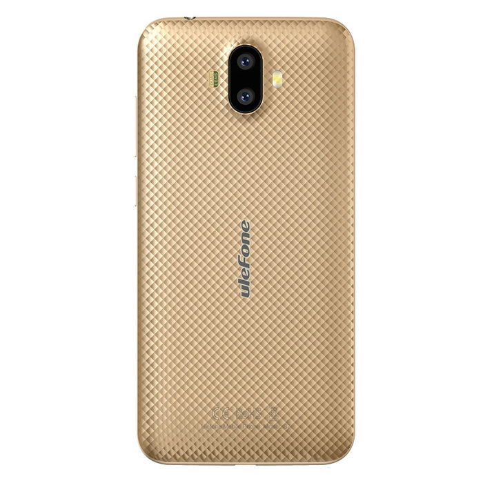 ULEFONE S7 5 Inch Android 7.0 MTK 6580 Quad-core 32-bit 1.3GHz 1+8GB Smart Phone (Gold)