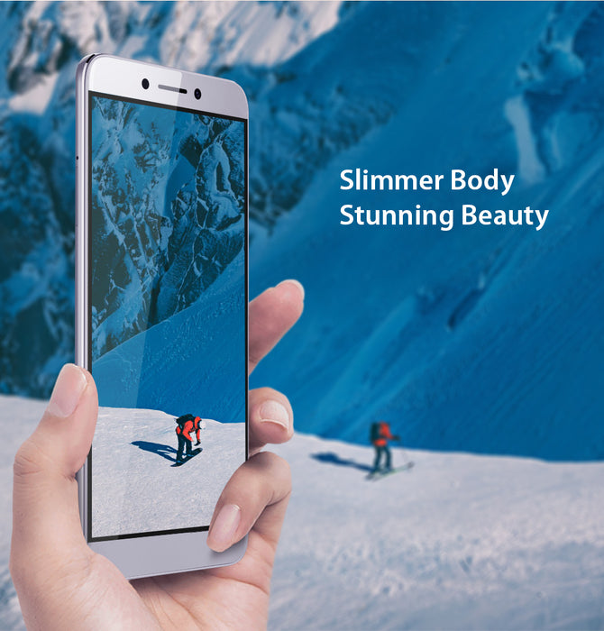 LEAGOO T8s Face ID Smartphone 5.5-Inch FHD Incell 4GB RAM and 32GB ROM Android 8.1 MT6750T Octa Core 3080mAh Battery Dual Camera