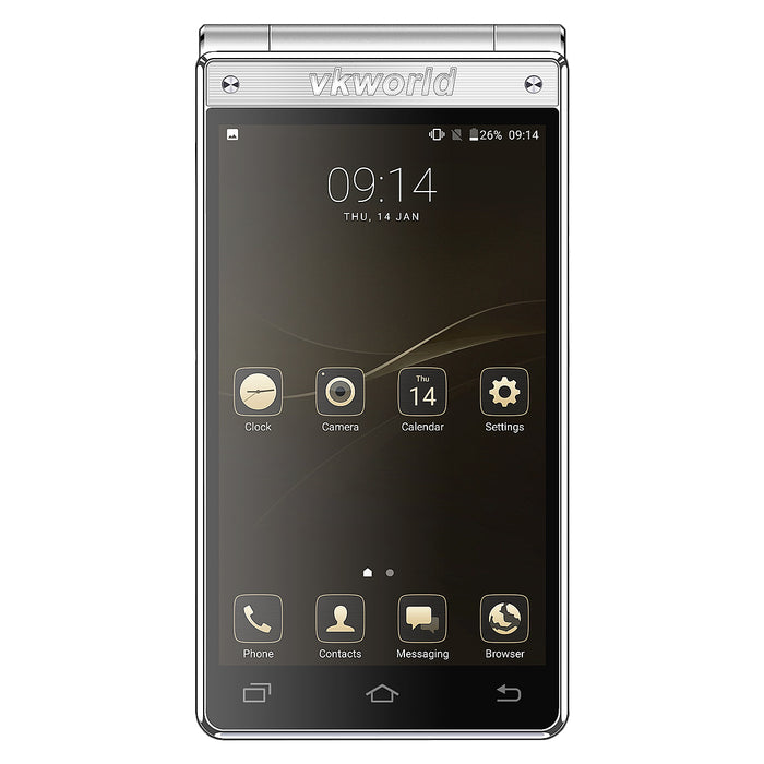 VKworld T2 Plus Flip Smart Phone with Dual SIM Dual Standby 13MP+5MP Camera