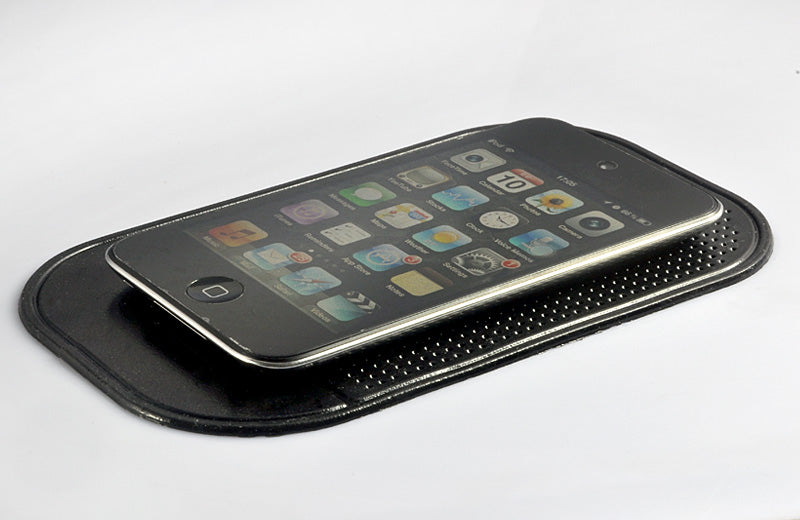 Sticky Car Pad for Cell Phone, Anti-Slip, Anti-shake, Black