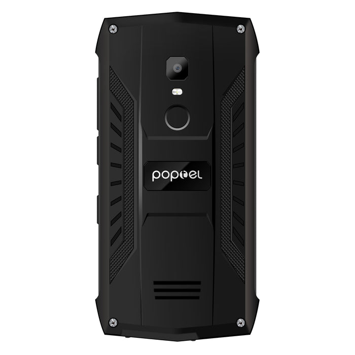 POPTEL P8 Smartphone 5.0 Inch Android 8.1 IP68 Waterproof MTK6739 Quad-Core 3750mAh 2GB+16GB 8MP Face ID NFC Lond Speaker 4G