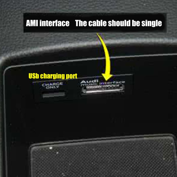 AMI Wireless Bluetooth Music Adapter USB Cable Universal for Audi and Volkswagen